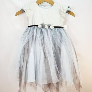Us Angels Flower Girl Special Occasion Dress Sz 3T
